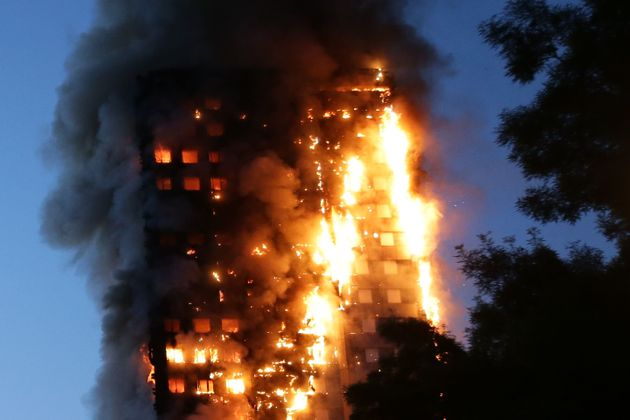 The blaze started at around 1am in the early hours of