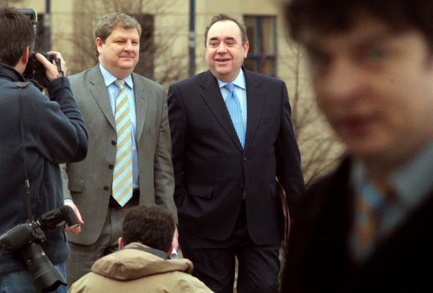 Angus Robertson and Alex Salmond both lost their Scottish seat to a