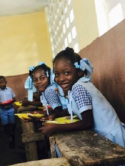School feeding in Haiti is one of the most important of the World Food Programme's projects. The meals reduce malnutrition w