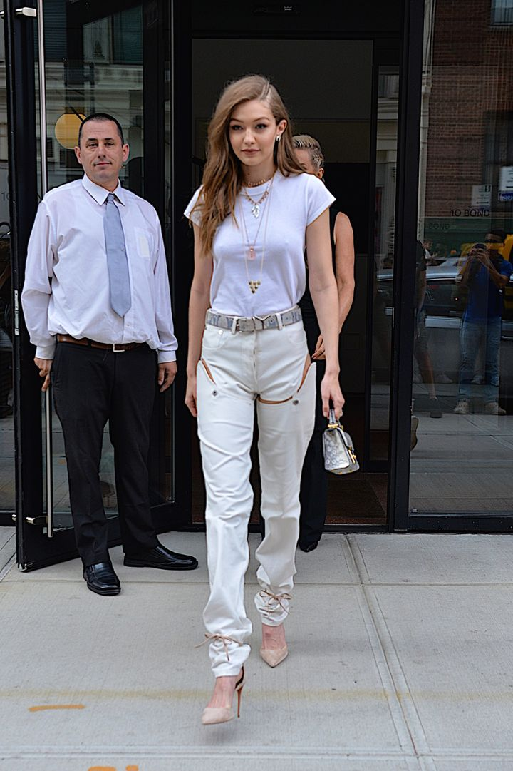 Gigi Hadid in New York City on June 10.