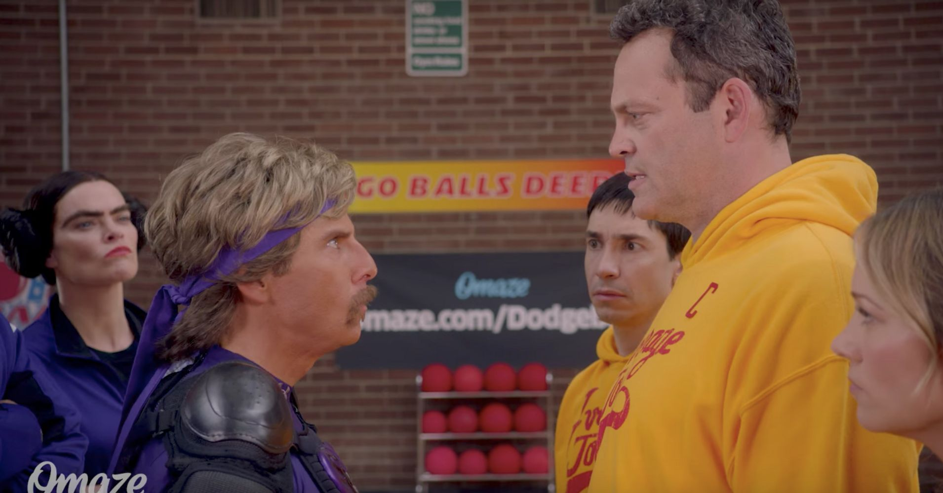 the dodgeball cast reunites for whats basically