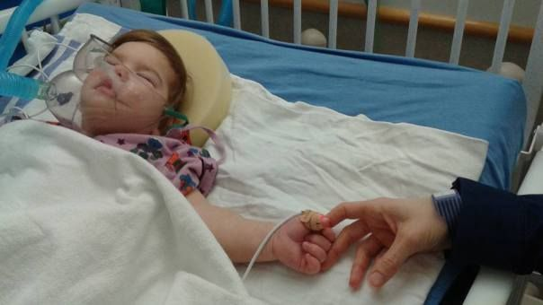 <p> <em>Lucia wakes up from a recent surgery in thehospital. All photos mine.</em> </p>