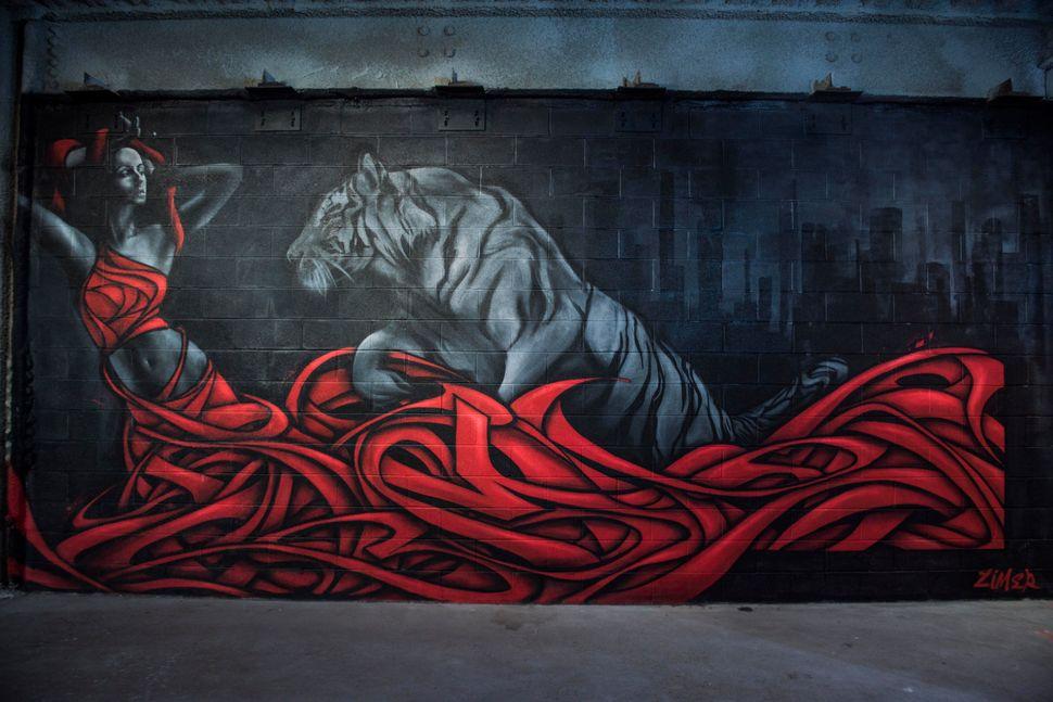 "ZIMER,""King Of The Concrete Jungle"""