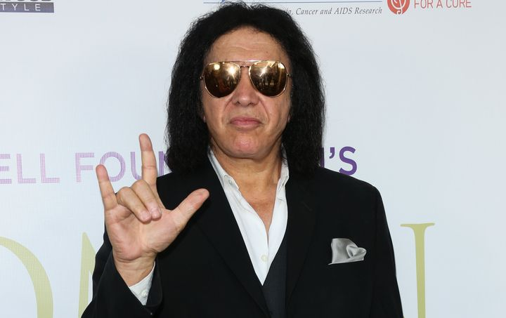 """Kiss cofounder Gene Simmons claims he first used the gesture """"in commerce"""" on Nov. 14, 1974."""