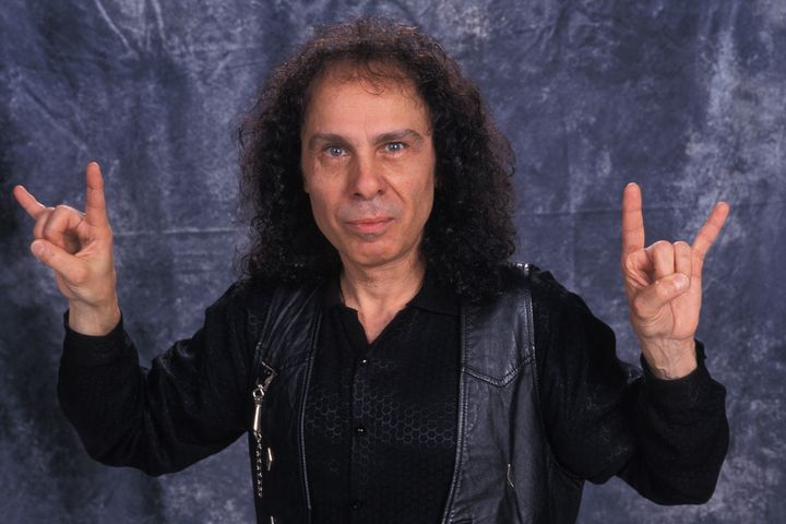 The late metal legend Ronnie James Dio said he got the gesture from his Italian grandmother.