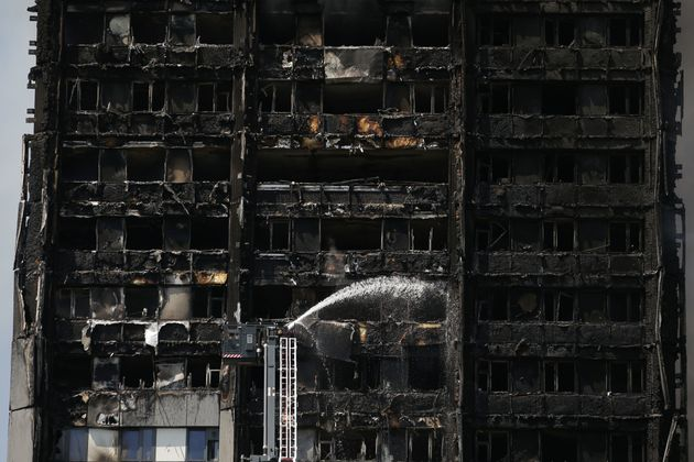 The fire at Grenfell Tower started in the early hours of Wednesday