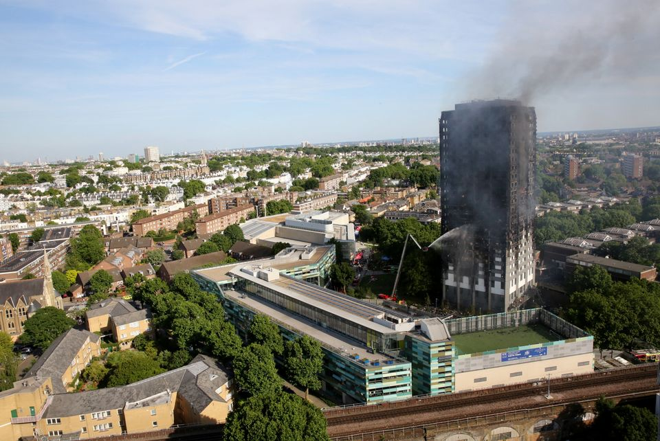 Grenfell Tower situated in North Kensington, just minutes from the posh streets of Notting