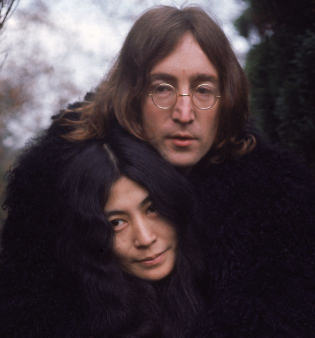 John Lennon and Yoko Ono in