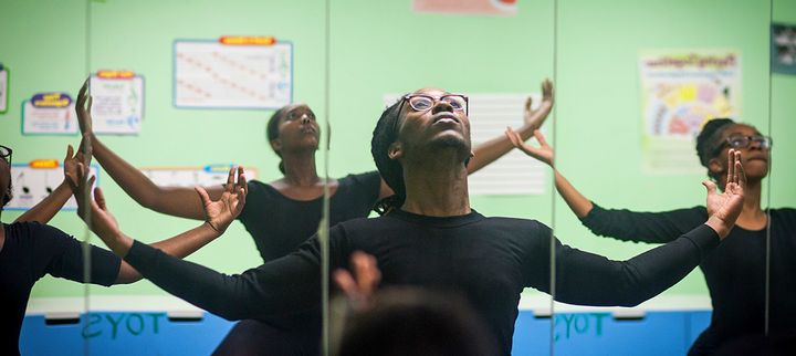 Dancer Jean-Daniel John got his start at Brooklyn's Ifetayo Cultural Arts Academy and then became a New York Community Trust