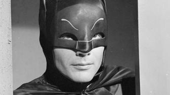 BATMAN - 'The Purr-fect Crime' - Airdate March 16, 1966. (Photo by ABC Photo Archives/ABC via Getty Images) ADAM WEST