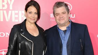 LOS ANGELES, CA - JUNE 14:  Meredith Salenger and Patton Oswalt attend the premiere of 'Baby Driver' at Ace Hotel on June 14, 2017 in Los Angeles, California.  (Photo by Jason LaVeris/FilmMagic)