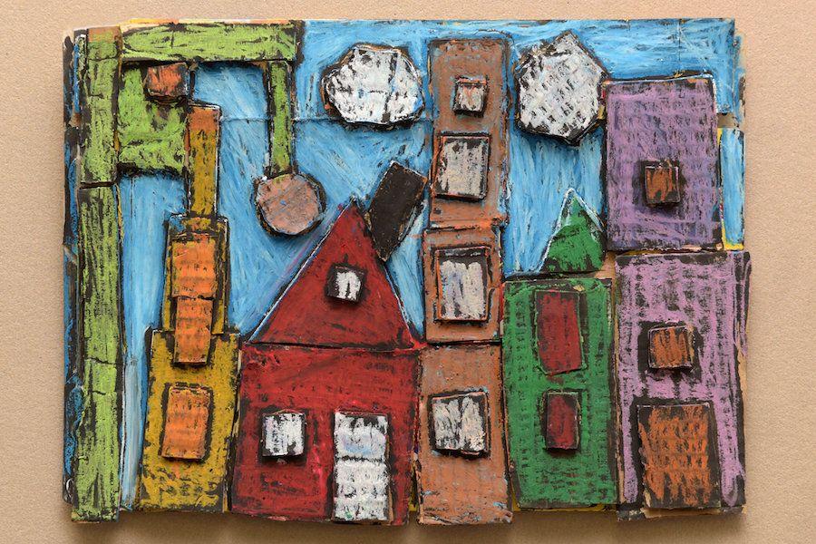 "Elijah Claudio, ""<i>Rock City</i>,"" Grade 2, P.S. 110 Florence Nightingale, Manhattan"