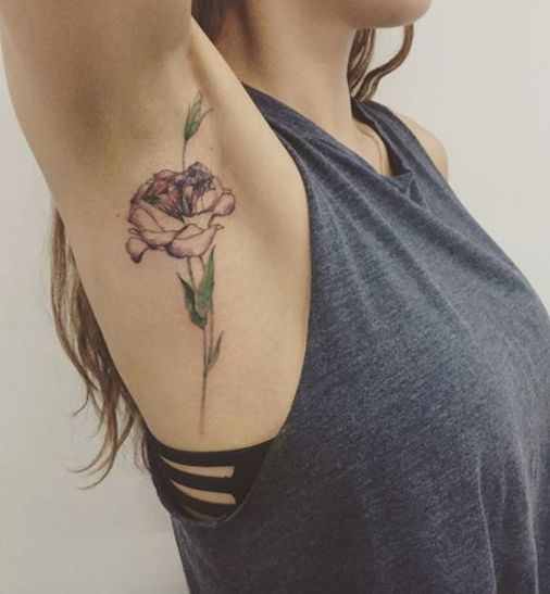 Armpit Tattoos: All Your Questions About This Beauty Trend