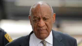 Actor and comedian Bill Cosby arrives for the fourth day of jury deliberation in his sexual assault trial at the Montgomery County Courthouse in Norristown, Pennsylvania, U.S. June 15, 2017. REUTERS/Lucas Jackson