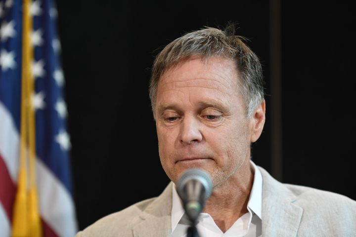 Fred Warmbier, father of Otto Warmbier, speaks during a news conference in Cincinnati, Ohio, U.S. June 15, 2017.