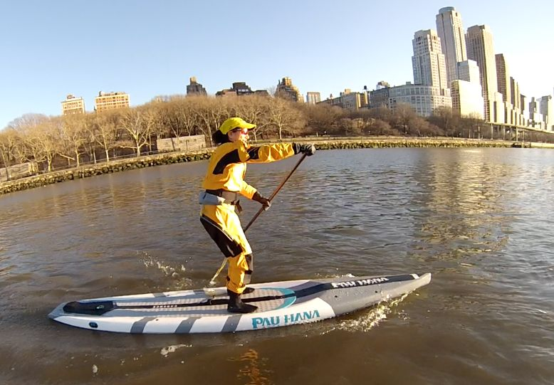 Stefani (author) New Year's Day SUP