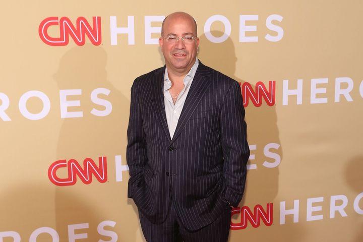 "CNN chief Jeff Zucker said Alex Jones is a ""newsworthy"" subject."
