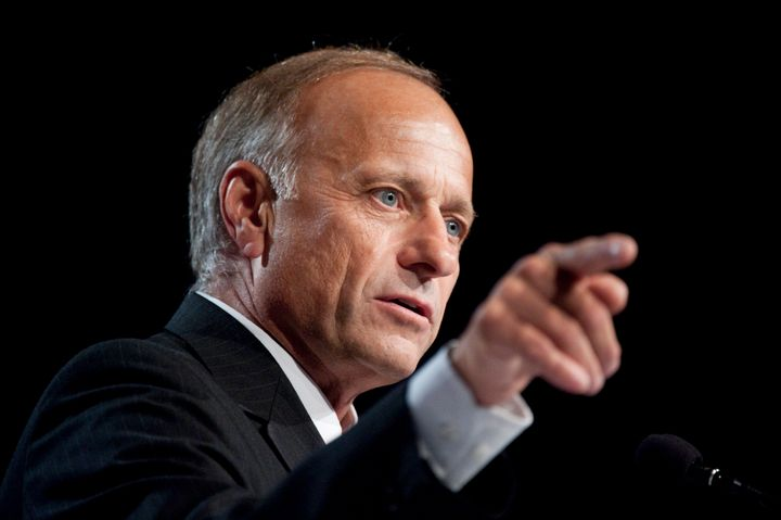 """Rep. Steve King (R-Iowa) says that President Obama """"focused on our differences rather than our things that unify us."""""""