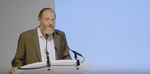 "Rabbi Dr. Alon Goshen-Gottstein, director of the Elijah Interfaith Institute, speaks at a <a href=""https://www.youtube.com/wa"
