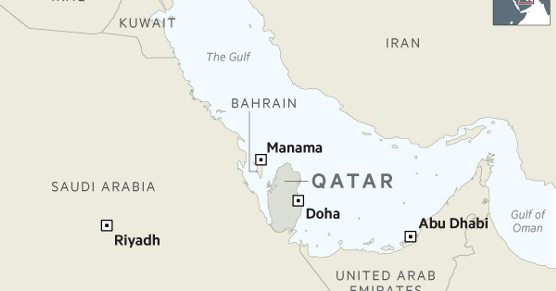 Saudi Arabia and Qatar – Trump Inflames the Family Feud