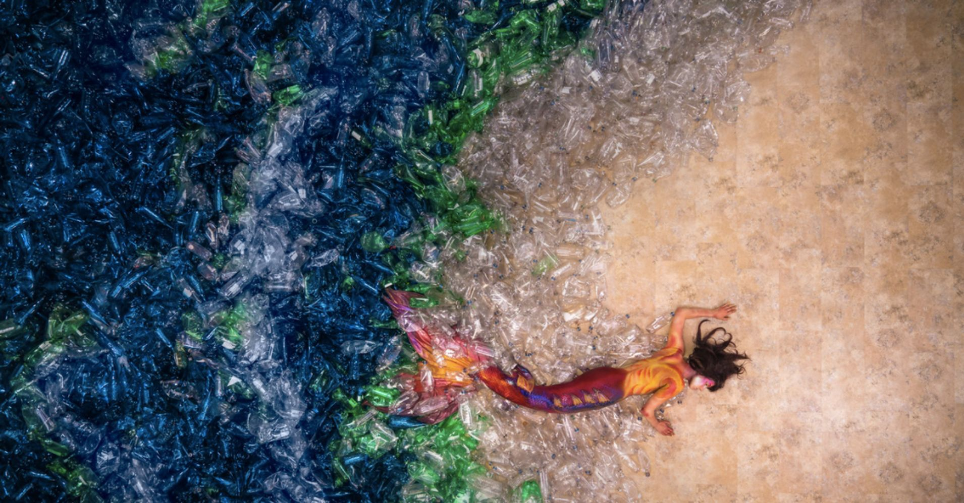 Mesmerizing Mermaid Photos Reveal Awful Truth About Our Oceans