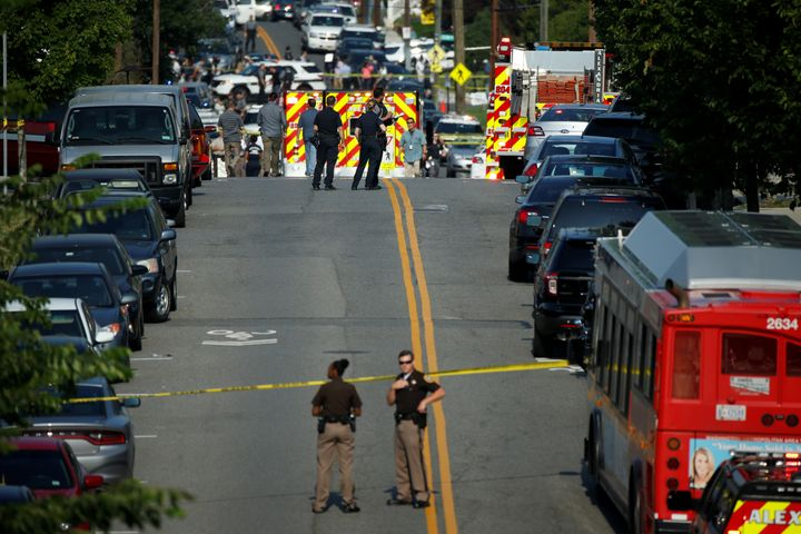 A gunman opened fire on Republican members of Congress during a baseball practice near Washington in Alexandria, Virgini