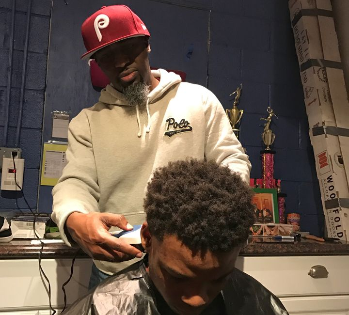 Rahaman Kilpatrick has been cutting hair for almost 30 years.