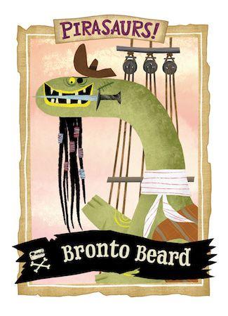 Bronto Beard collector's card