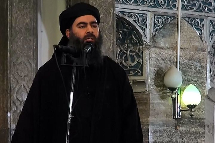 Uncertainty over Islamic State leader's fate after airstrike