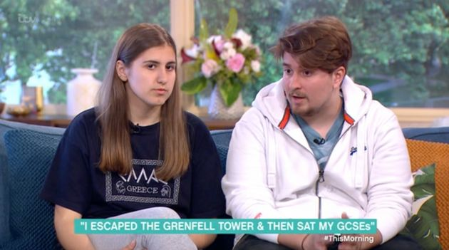 Grenfell Tower Fire: Ines Alves Who Took GCSE Exam The Morning After Blaze Appears On 'This