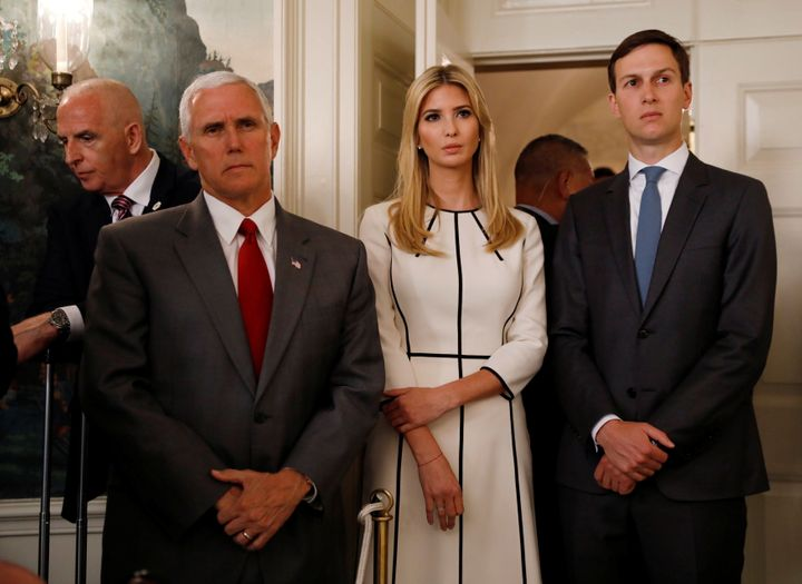 Image result for kushner pence