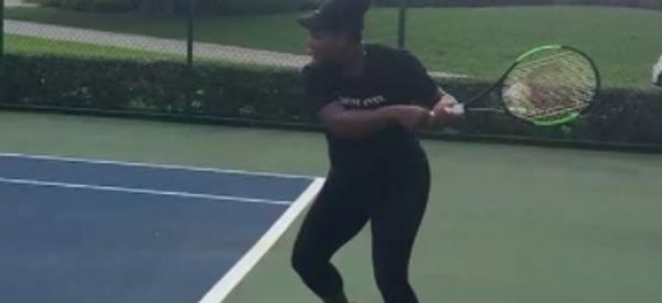 Serena Williams' Tennis Video Proves Pregnancy Needn't Stop You Doing What You Love