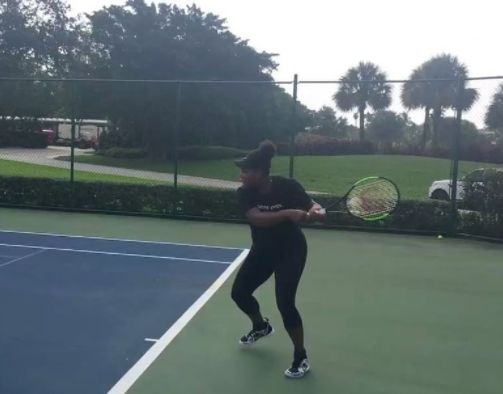 Serena Williams' Tennis Video Proves Pregnancy Needn't Stop You Doing What You
