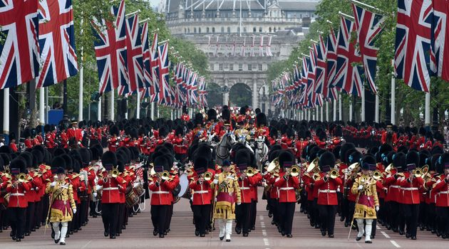 What Is Trooping The Colour? 2017's Parade For The Queen's ...