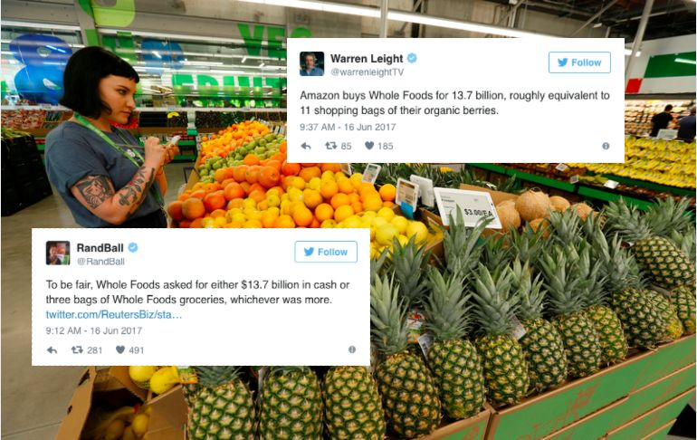 Twitter Nails The Funniest Thing About Amazon Purchasing Whole