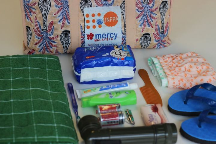 What's In Your Bag? Inside A Dignity Kit For Refugee Women
