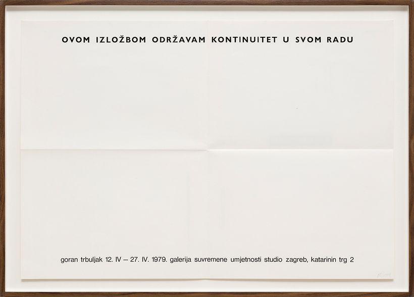 """<a rel=""""nofollow"""" href=""""https://www.mutualart.com/Artist/Goran-Trbuljak/D26DA86C8471EB44"""" target=""""_blank"""">Goran Trbuljak</a>,"""