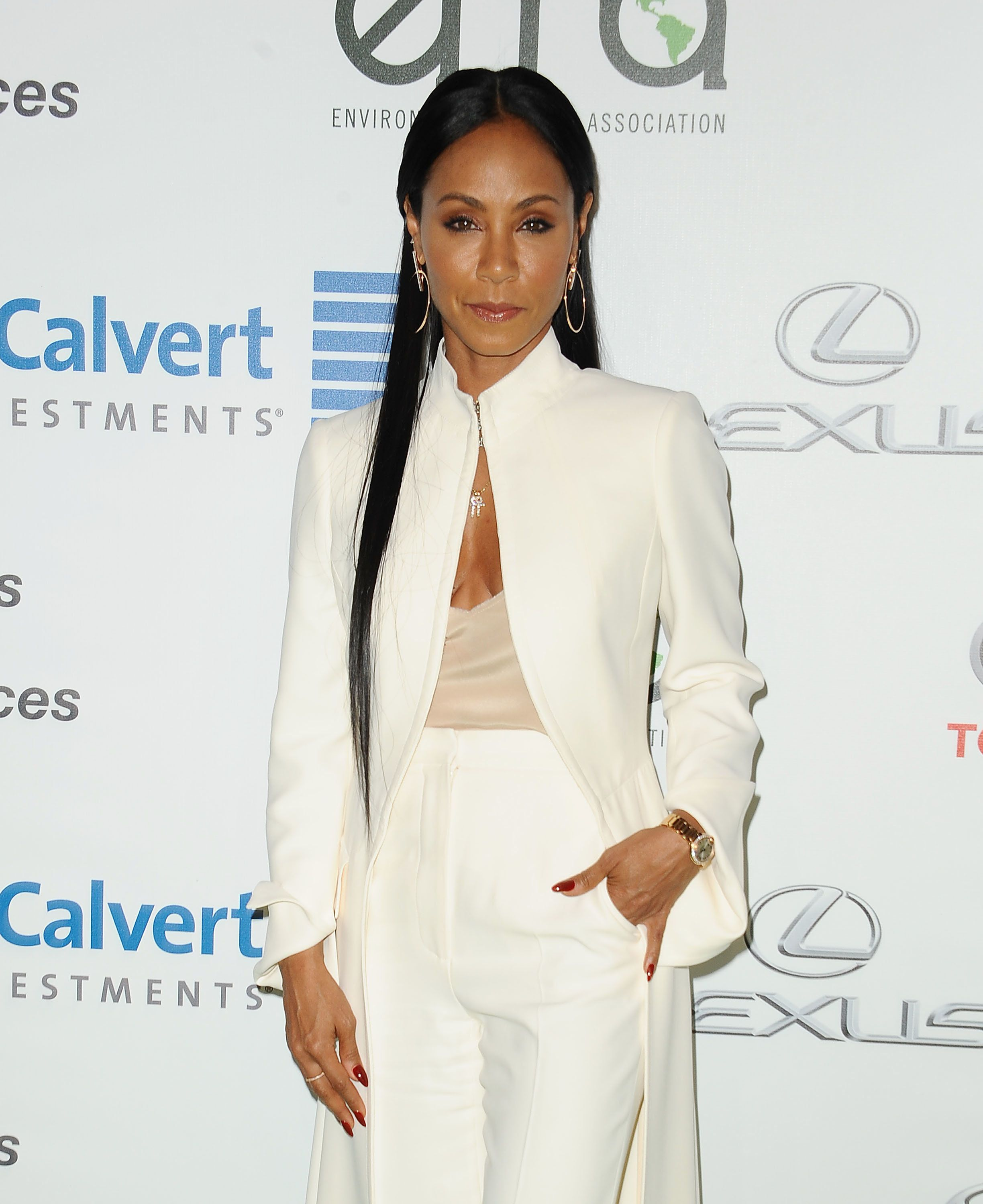 BURBANK, CA - OCTOBER 22:  Actress Jada Pinkett Smith attends the 26th annual EMA Awards at Warner Bros. Studios on October 22, 2016 in Burbank, California.  (Photo by Jason LaVeris/FilmMagic)