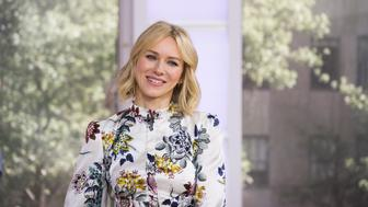TODAY -- Pictured: Naomi Watts on Thursday, May 18, 2017 -- (Photo by: Nathan Congleton/NBC/NBCU Photo Bank via Getty Images)