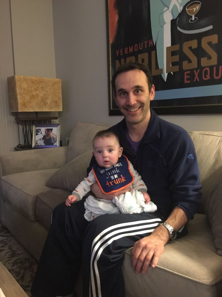 """In June 2016, Tom Garden welcomed his son, whom he described as """"very independent."""""""