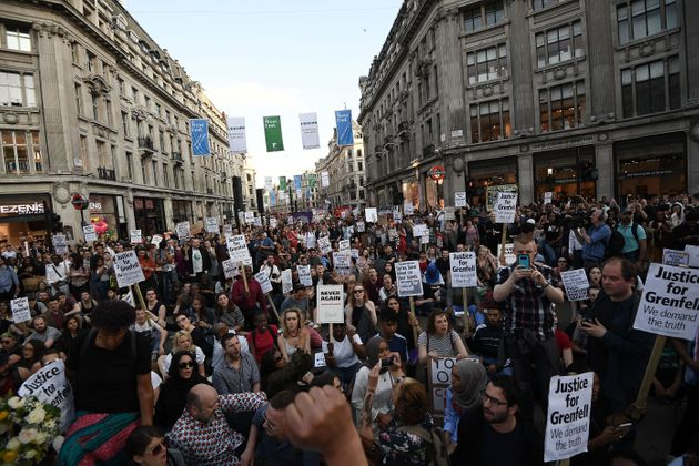 Grenfell Tower Fire: Protesters Storm Kensington Town Hall And March On Downing