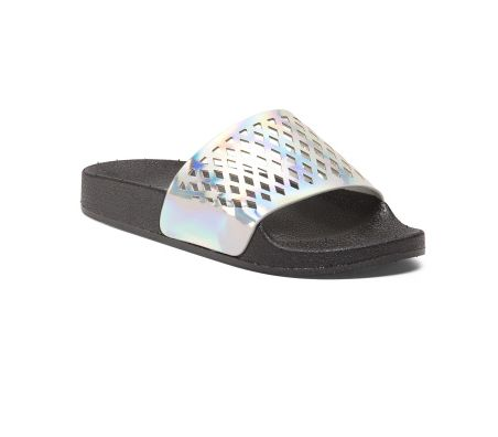 "Buy the <a href=""http://tjmaxx.tjx.com/store/jump/product/shoes-shoes-sandals/Laser-Cut-Pool-Slides/1000231153?colorId=NS1184"