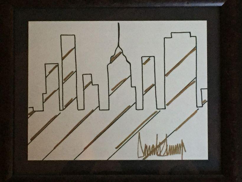 <strong><em>New York Skyline, by Donald J. Trump, 2005</em></strong>