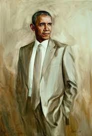 <strong><em>The not-official Presidential portrait by  Edwin van den Dikkenberg </em></strong>