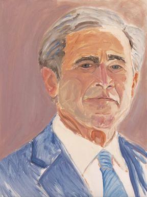 <strong><em>George W. Bush - self-portrait</em></strong>