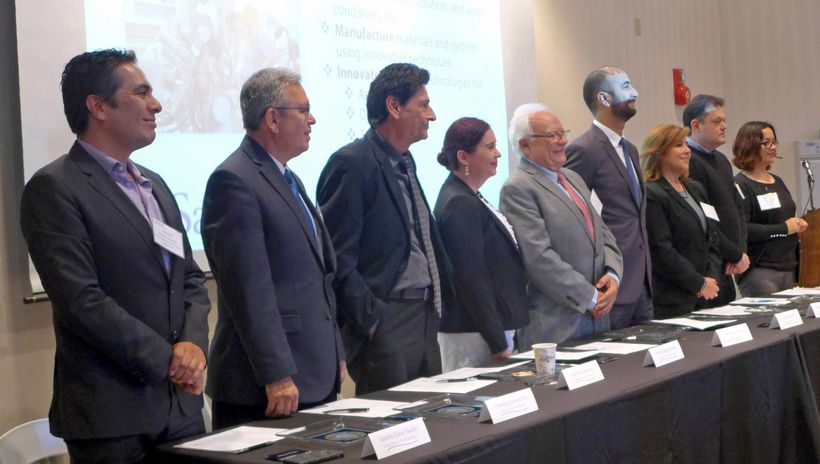 <em>Representatives of some of the fourteen organizations represented in the CaliBaja Education Consortium. </em><strong>Cred