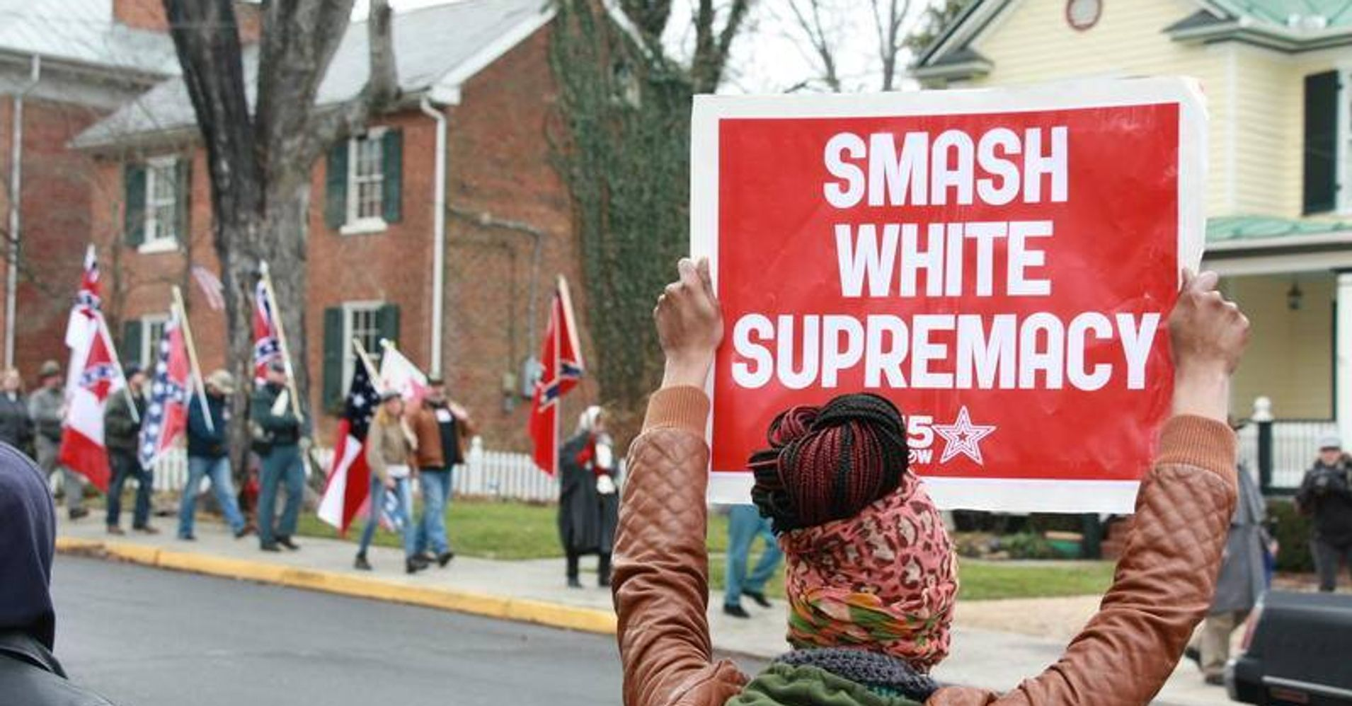 Dismantling White Supremacy On The Front Lines And Loving - A map of us after white supremcists take over