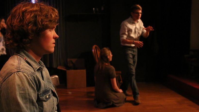 From Left to Right: Casey Dun, Alexa Radson, and Nate Werner.