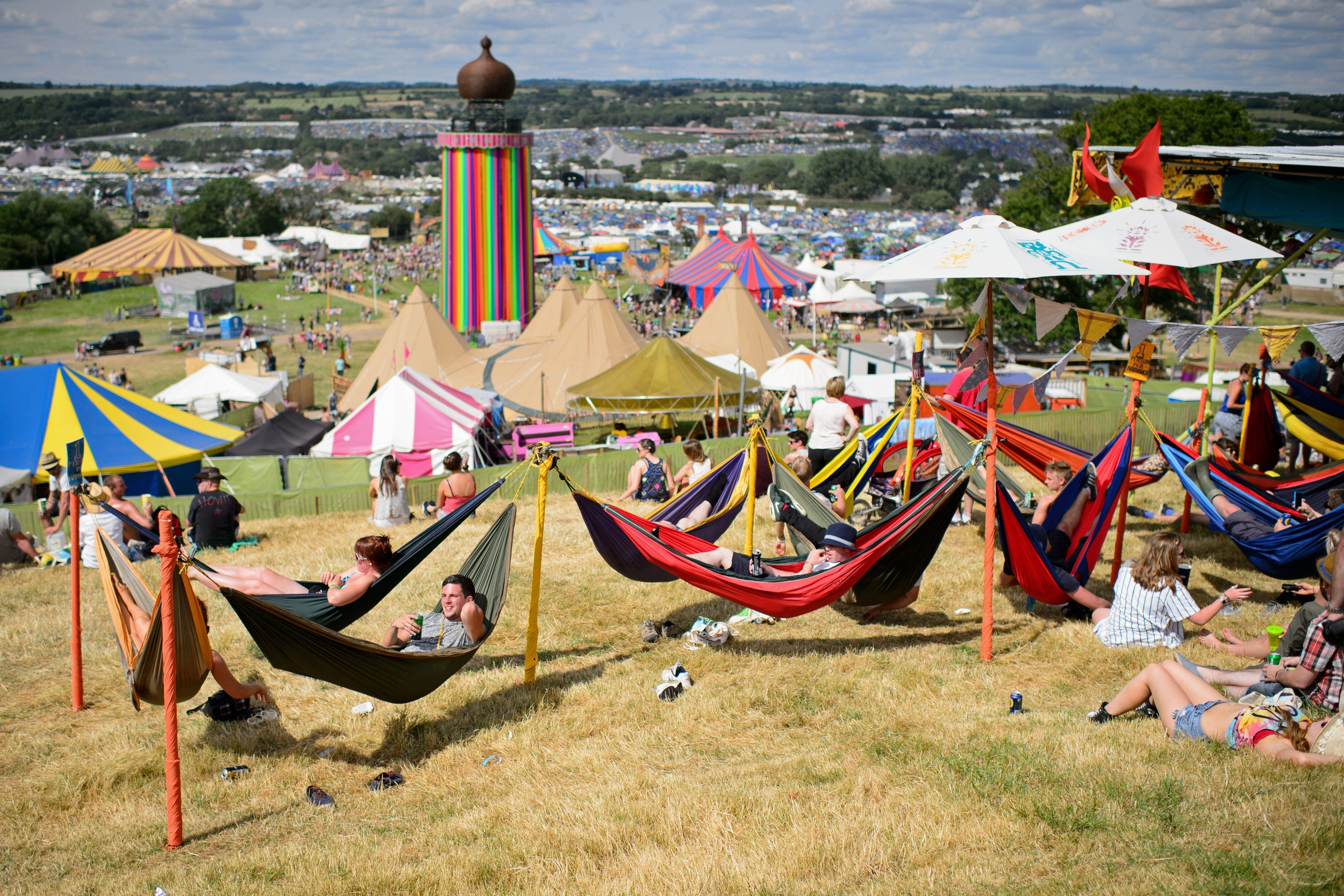 We Don't Want To Jinx It, But The Glastonbury Weather Reports Are Looking Seriously