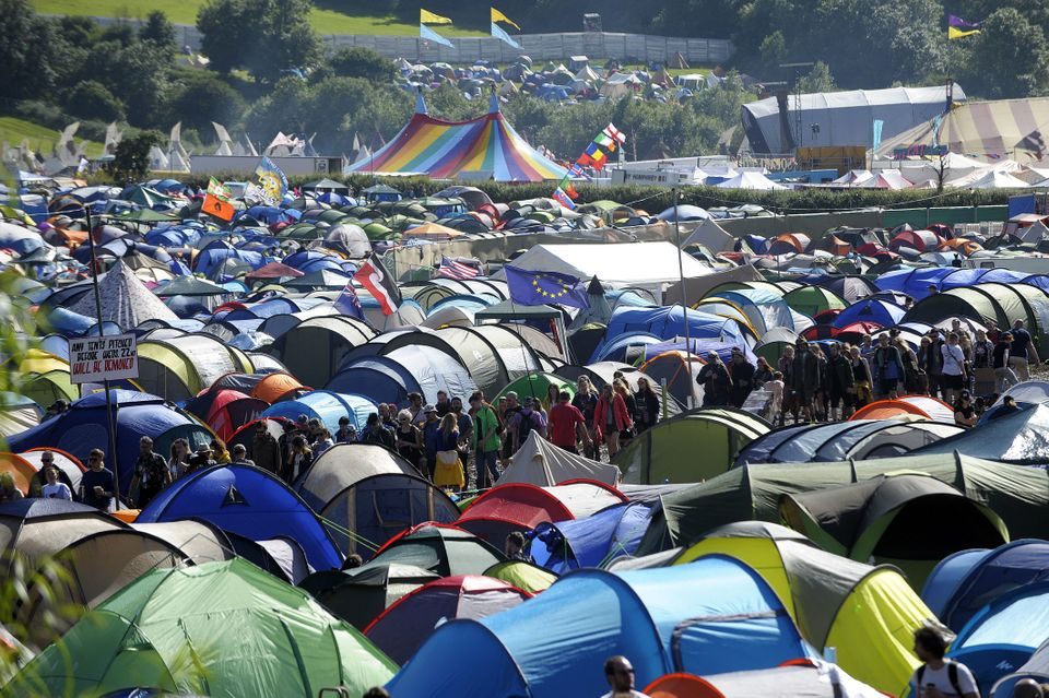 47 Things That Would Be Happening If You Were On The Way To Glastonbury